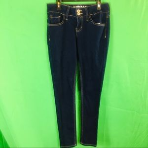 Hydraulic Super Skinny Low Rise Jeans Size 5/6
